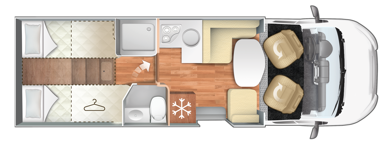 Caravans International Magis 84XT - SKLADEM PROSINEC 2021