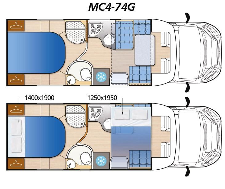 Mc4 74G