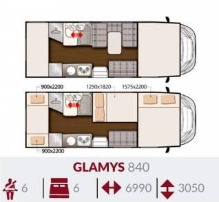Glamys 840