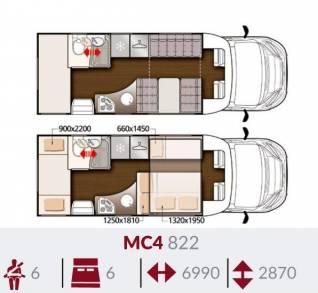 MC4 822