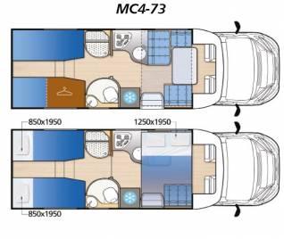 Polointegrál Mc4 73G