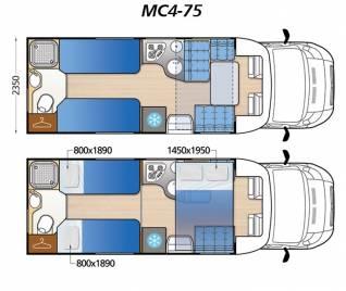 Polointegrál Mc4 75G