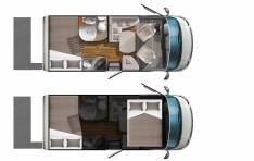 Plně integrovaný vůz Ecovip 600