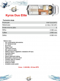 Kyros Duo Elite sklad